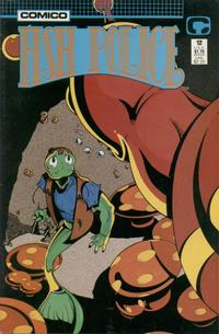 Cover Thumbnail for Fish Police (Comico, 1988 series) #12