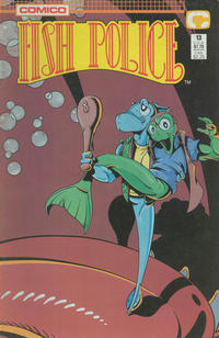 Cover Thumbnail for Fish Police (Comico, 1988 series) #13