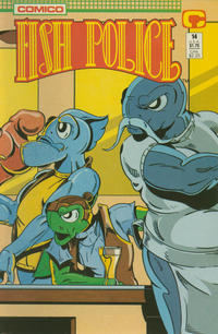 Cover Thumbnail for Fish Police (Comico, 1988 series) #14