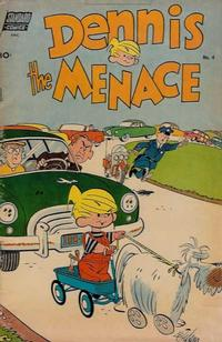 Cover Thumbnail for Dennis the Menace (Pines, 1953 series) #4