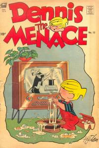 Cover Thumbnail for Dennis the Menace (Pines, 1953 series) #12