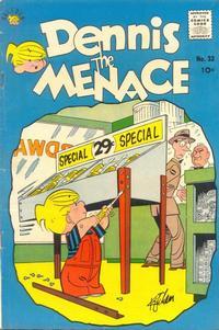 Cover Thumbnail for Dennis the Menace (Hallden; Fawcett, 1959 series) #33
