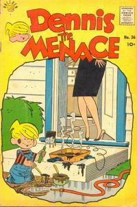 Cover Thumbnail for Dennis the Menace (Hallden; Fawcett, 1959 series) #36