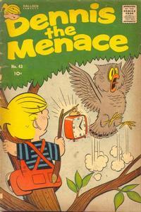 Cover for Dennis the Menace (Hallden; Fawcett, 1959 series) #43