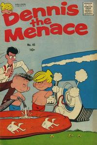 Cover Thumbnail for Dennis the Menace (Hallden; Fawcett, 1959 series) #45