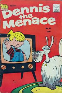 Cover for Dennis the Menace (Hallden; Fawcett, 1959 series) #49