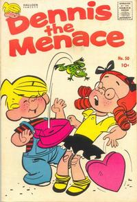 Cover Thumbnail for Dennis the Menace (Hallden; Fawcett, 1959 series) #50