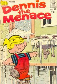 Cover Thumbnail for Dennis the Menace (Hallden; Fawcett, 1959 series) #57