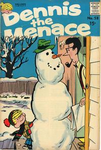 Cover Thumbnail for Dennis the Menace (Hallden; Fawcett, 1959 series) #58