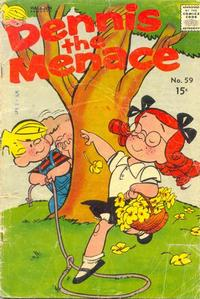 Cover for Dennis the Menace (Hallden; Fawcett, 1959 series) #59