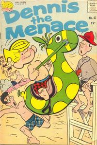 Cover Thumbnail for Dennis the Menace (Hallden; Fawcett, 1959 series) #62