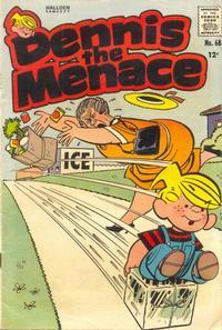 Cover Thumbnail for Dennis the Menace (Hallden; Fawcett, 1959 series) #68