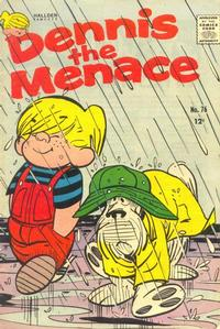 Cover for Dennis the Menace (Hallden; Fawcett, 1959 series) #76