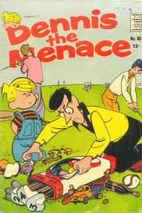 Cover Thumbnail for Dennis the Menace (Hallden; Fawcett, 1959 series) #80
