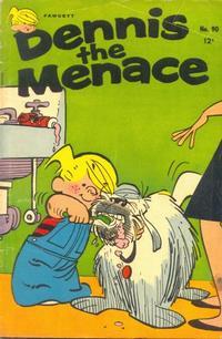 Cover Thumbnail for Dennis the Menace (Hallden; Fawcett, 1959 series) #90