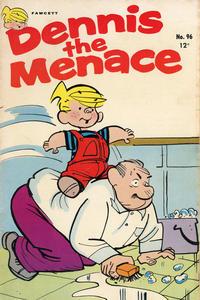 Cover for Dennis the Menace (Hallden; Fawcett, 1959 series) #96