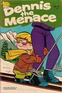 Cover Thumbnail for Dennis the Menace (Hallden; Fawcett, 1959 series) #101