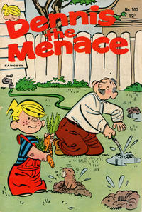 Cover for Dennis the Menace (Hallden; Fawcett, 1959 series) #102