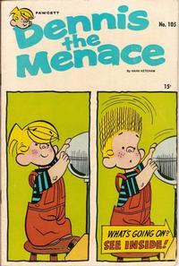 Cover for Dennis the Menace (Hallden; Fawcett, 1959 series) #105