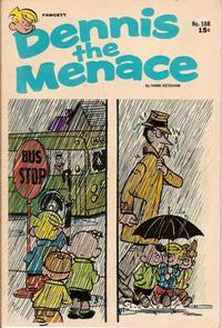 Cover for Dennis the Menace (Hallden; Fawcett, 1959 series) #108