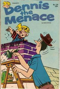 Cover Thumbnail for Dennis the Menace (Hallden; Fawcett, 1959 series) #110