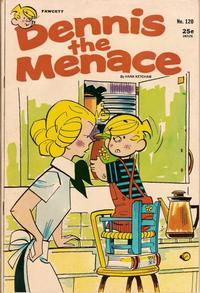 Cover for Dennis the Menace (Hallden; Fawcett, 1959 series) #120