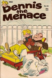 Cover Thumbnail for Dennis the Menace (Hallden; Fawcett, 1959 series) #121