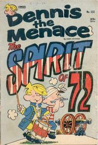 Cover for Dennis the Menace (Hallden; Fawcett, 1959 series) #122
