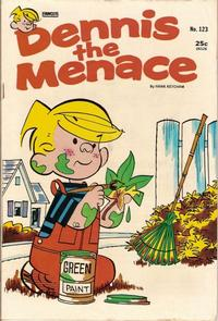 Cover for Dennis the Menace (Hallden; Fawcett, 1959 series) #123