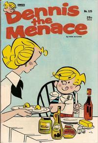 Cover Thumbnail for Dennis the Menace (Hallden; Fawcett, 1959 series) #125