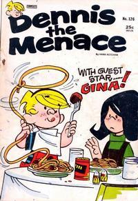 Cover Thumbnail for Dennis the Menace (Hallden; Fawcett, 1959 series) #126