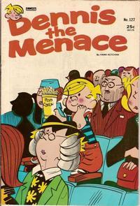 Cover for Dennis the Menace (Hallden; Fawcett, 1959 series) #127