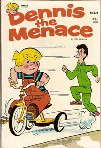 Cover Thumbnail for Dennis the Menace (Hallden; Fawcett, 1959 series) #128