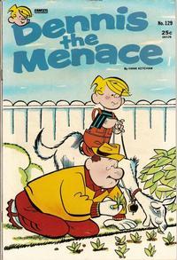 Cover Thumbnail for Dennis the Menace (Hallden; Fawcett, 1959 series) #129