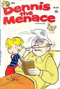 Cover Thumbnail for Dennis the Menace (Hallden; Fawcett, 1959 series) #134