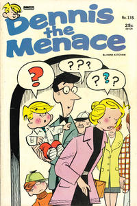 Cover Thumbnail for Dennis the Menace (Hallden; Fawcett, 1959 series) #135