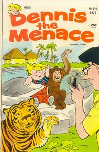 Cover for Dennis the Menace (Hallden; Fawcett, 1959 series) #141