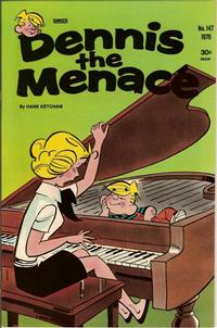 Cover Thumbnail for Dennis the Menace (Hallden; Fawcett, 1959 series) #147