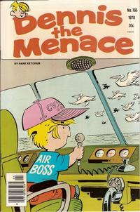 Cover for Dennis the Menace (Hallden; Fawcett, 1959 series) #155