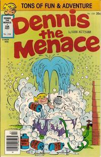 Cover for Dennis the Menace (Hallden; Fawcett, 1959 series) #158