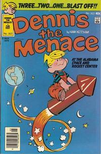Cover Thumbnail for Dennis the Menace (Hallden; Fawcett, 1959 series) #163