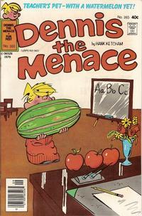 Cover for Dennis the Menace (Hallden; Fawcett, 1959 series) #165