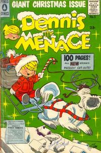 Cover Thumbnail for Dennis the Menace Giant (Pines, 1956 series) #5