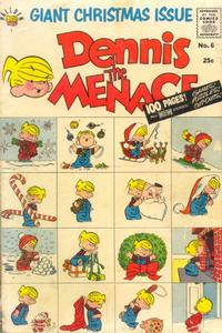Cover Thumbnail for Dennis the Menace Giant (Hallden; Fawcett, 1958 series) #6 - Dennis the Menace Giant Christmas Issue