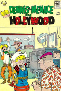 Cover Thumbnail for Dennis the Menace Giant (Hallden; Fawcett, 1958 series) #7 - Dennis the Menace in Hollywood [First Printing]