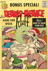 Cover Thumbnail for Dennis the Menace Giant (Hallden; Fawcett, 1958 series) #14