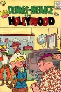 Cover Thumbnail for Dennis the Menace Giant (Hallden; Fawcett, 1958 series) #23 - Dennis the Menace in Hollywood