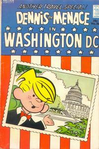 Cover Thumbnail for Dennis the Menace Giant (Hallden; Fawcett, 1958 series) #26 - Dennis the Menace in Washington D.C.
