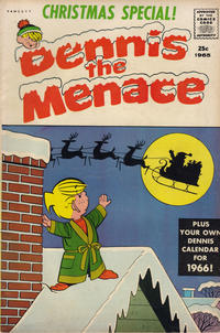 Cover Thumbnail for Dennis the Menace Giant (Hallden; Fawcett, 1958 series) #35 - Dennis the Menace Christmas Special!