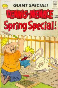 Cover Thumbnail for Dennis the Menace Giant (Hallden; Fawcett, 1958 series) #36 - Dennis the Menace Spring Special